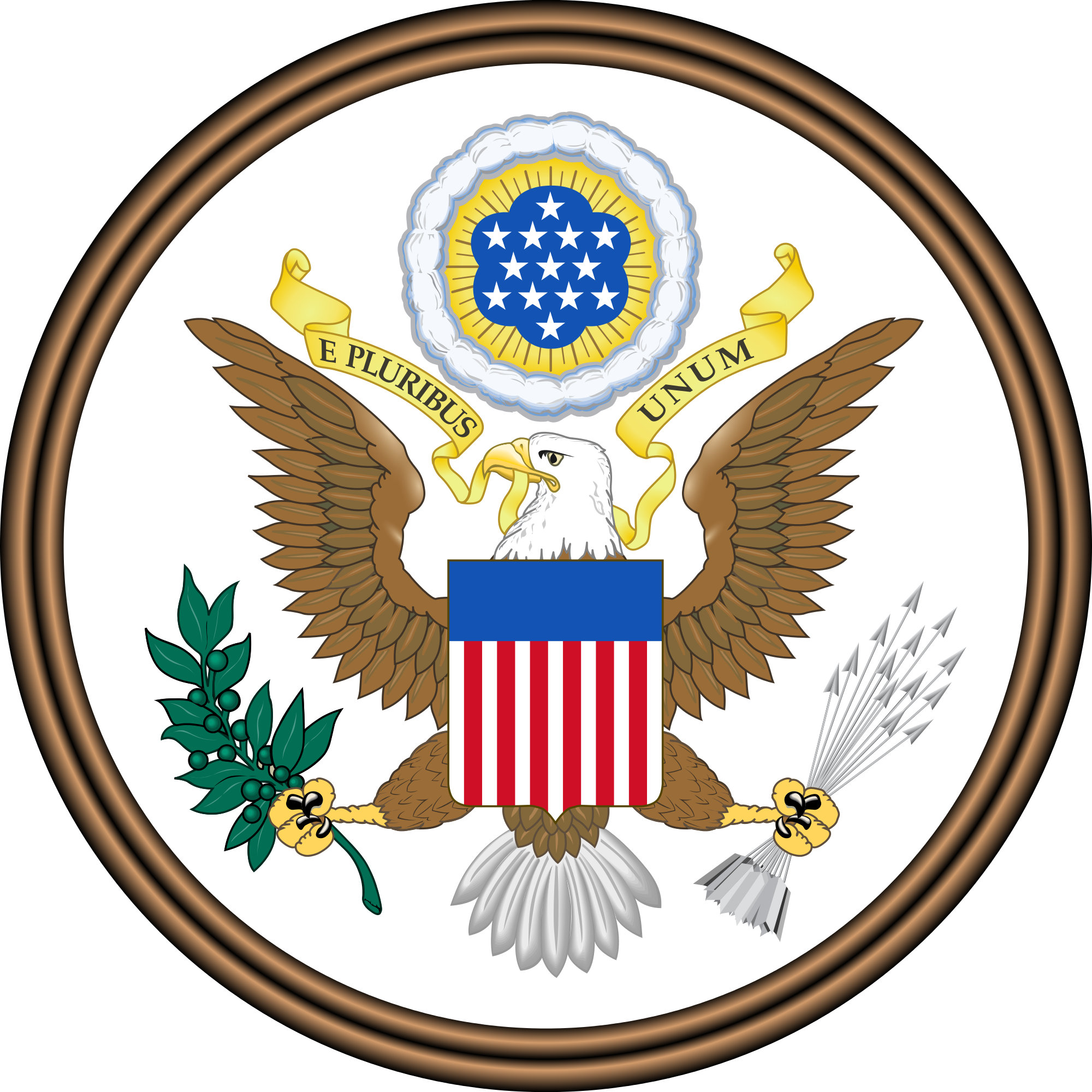 The Great Seal Of The United States Of America RUSS How - Show me the united states of america