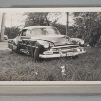 Marvin Anderson's first car, a 1954 Chevy Coupe
